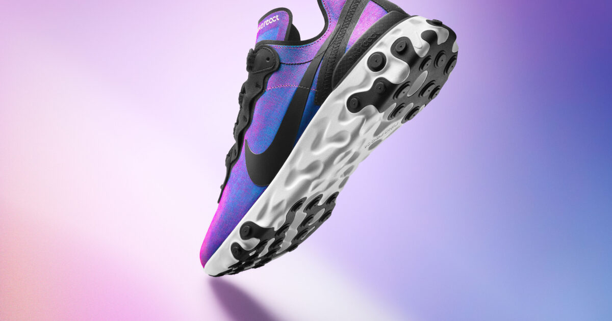 Seguro accesorios Hornear  Experimenting with the most reactive element in nature - Nike React55 |  Kids Creative Agency